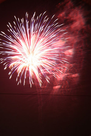4th of July 2006: Fireworks in Troy