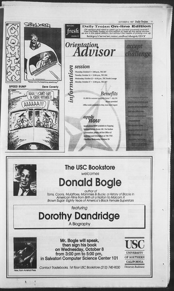 Daily Trojan, Vol. 132, No. 26, October 06, 1997
