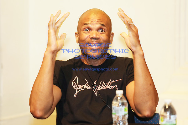 Darryl DMC McDaniels 'Ten Ways Not To Commit Suicide' Book Signing 8-26-16
