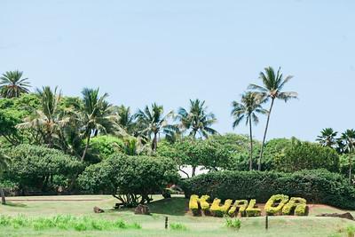Erica and Evan at Kualoa Ranch Oahu Hawaii