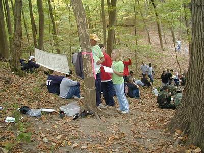 Cardinal Orienteering - McFarlan Woods - Oct 9, 2004