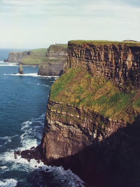 Cliffs of Mohr, Ireland #1 c.  Oct. 1999