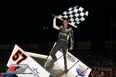 Lincoln Speedway - 7/3/17 - Chad Updegraff