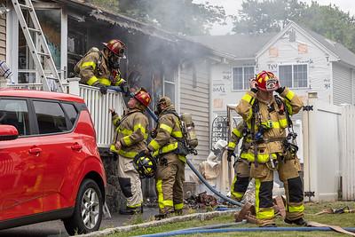 Dawson Ave. Fire (West Haven, CT) 6/13/21