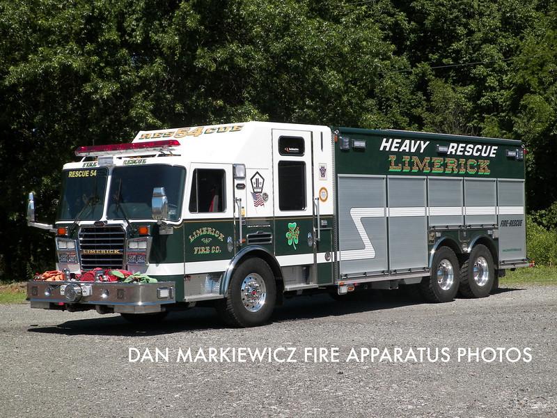 LIMERICK FIRE CO. RESCUE 54 2012 KME PUMPER/RESCUE