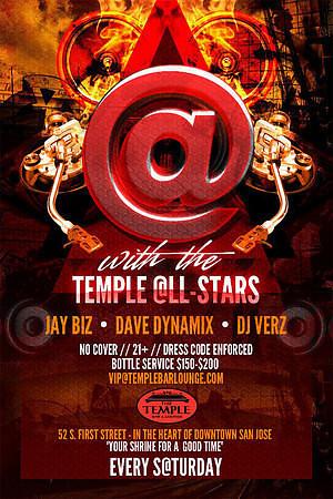 """Temple @LL Stars"" @ Temple Bar & Lounge 12.29.12"