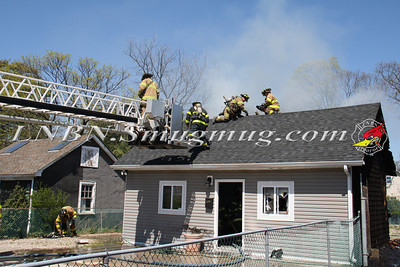 Bay Shore F.D. House Fire 117 5th Ave. 4-19-12