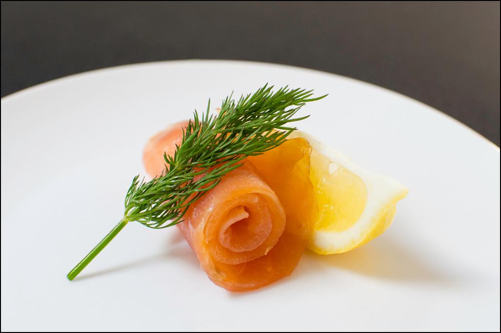 Atlantic Salmon Scroll, Lemon and Dill - Woodbridge Smokehouse
