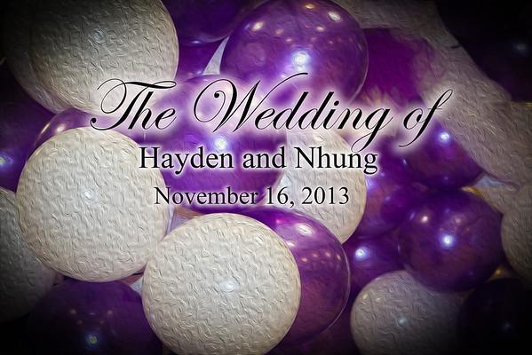 Hayden and Nhung