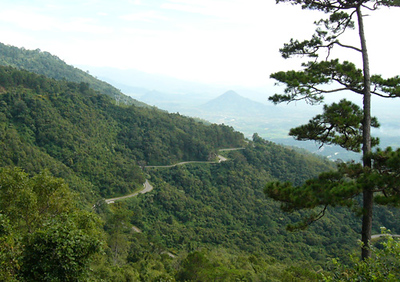 The road from Dalat to Nha Trang