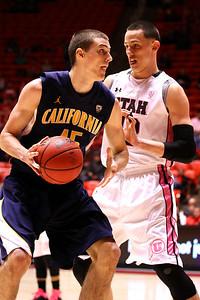 U of U MBB vs California 1-24-2013