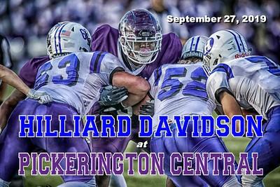 2019 Hilliard Davidson at Pickerington Central (09-27-19)