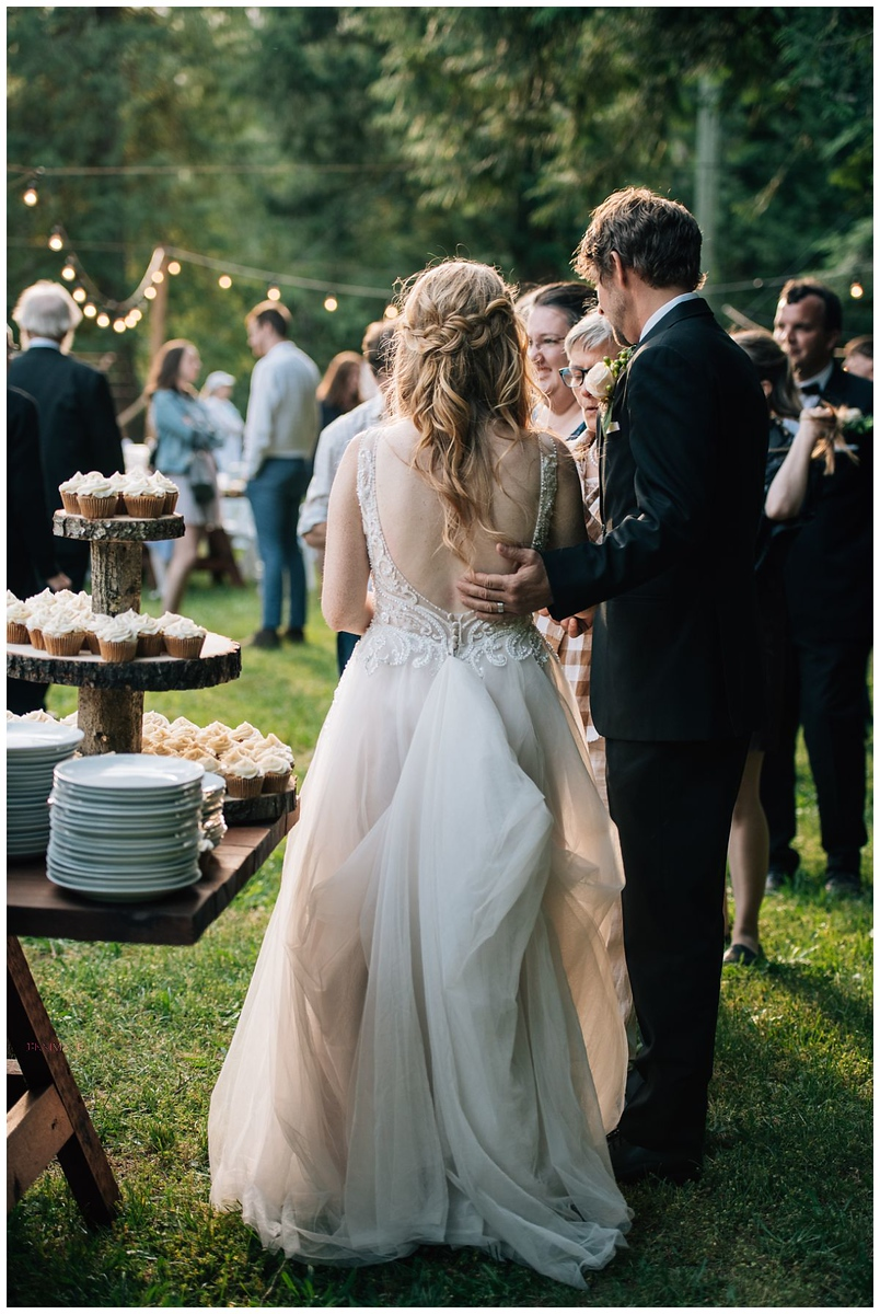 DIY Forest Wedding Hope BC