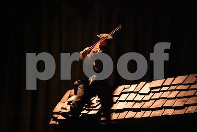 Fiddler on the Roof dress rehersal