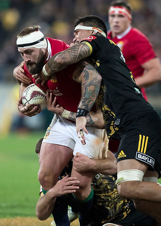 Joe Marler during game 8 of the British and Irish Lions 2017 Tour of New Zealand,The match between  Hurricanes and British and Irish Lions, Westpac Stadium, Wellington, Tuesday 27th June 2017 (Photo by Kevin Booth Steve Haag Sports)  Images for social media must have consent from Steve Haag
