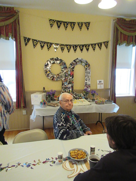 Paul Chamberlin 90th Birthday 04-2019