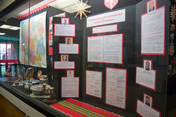 09/11/19 Wesley Bunnell | Staff The Polish Genealogical Society has a large display currently on show at the New Britain Public Library.