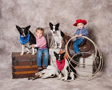 Western Studio Shoot with Kids Finals