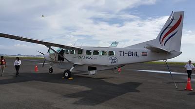 Small Plane Flight to Limon