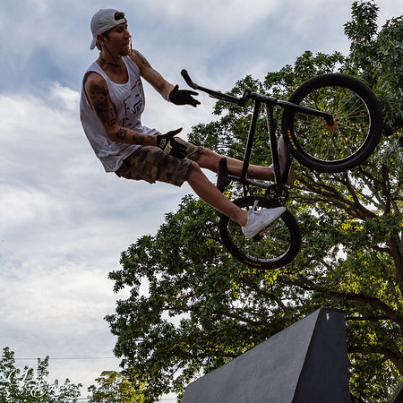 Skate Park, Parkour,  BMX Track & Things in Motion