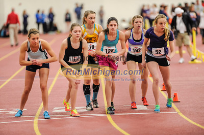 Girls' 3200 Meters, Heat 1 - 2014 MITS State Meet