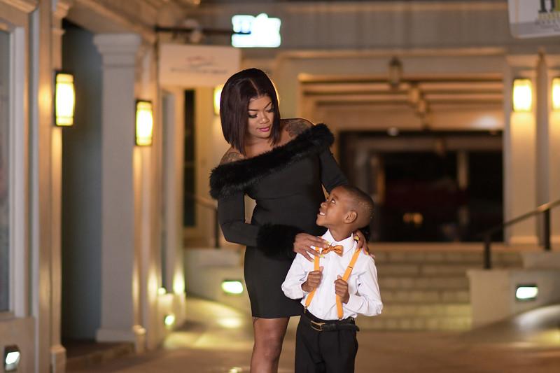 Jasmine Jones & Son Photoshoot