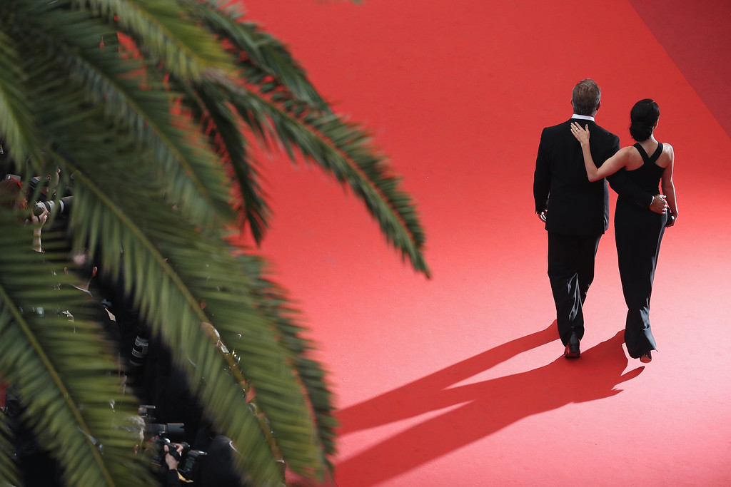 . CANNES, FRANCE - MAY 22:  Rossalind Ross and Mel Gibson attend the closing ceremony of the 69th annual Cannes Film Festival at the Palais des Festivals on May 22, 2016 in Cannes, France.  (Photo by Andreas Rentz/Getty Images)