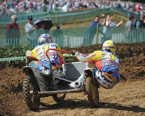 CHAMPIONNAT DU MONDE SIDE-CAR CROSS RACE 2