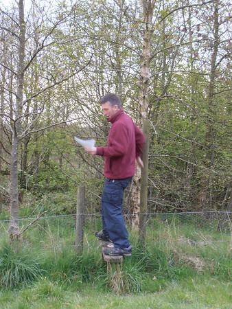 2012-04-24 Orienteering at Apedale
