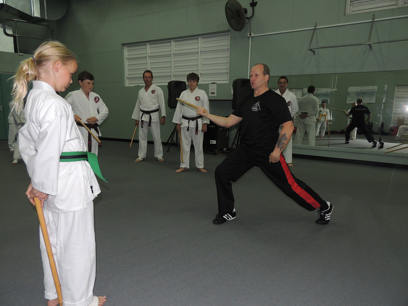 With Eryn Combat Karate Noosa