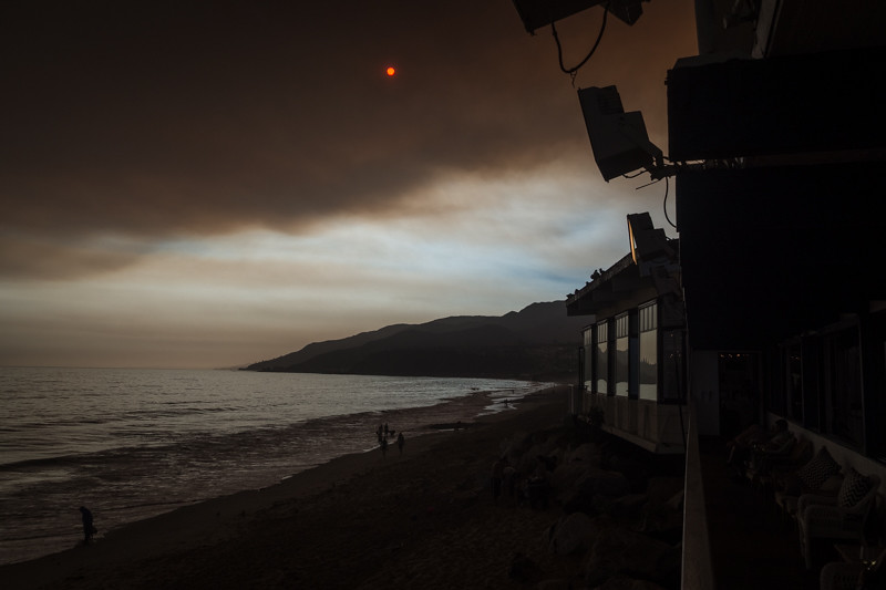 July 23 - Sun and smoke, Los Angeles.jpg