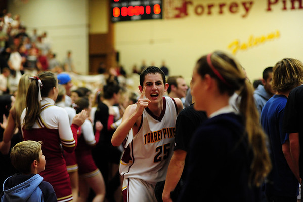 Torrey Pines Basketball CIF semi vs LCC