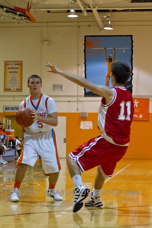 Edgewater @ Boone Boys JV Basketball - 2012