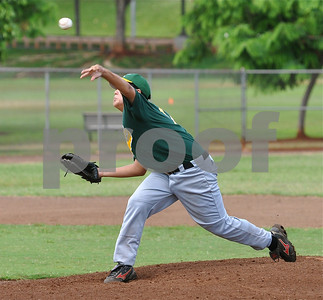 "07-29-09 Kahaluu ""vs"" Trojans 16U - Photos by Alan Kang"