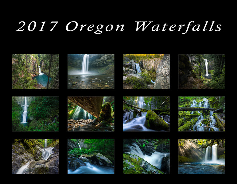 Oregon Waterfall Calendar Cover.jpg