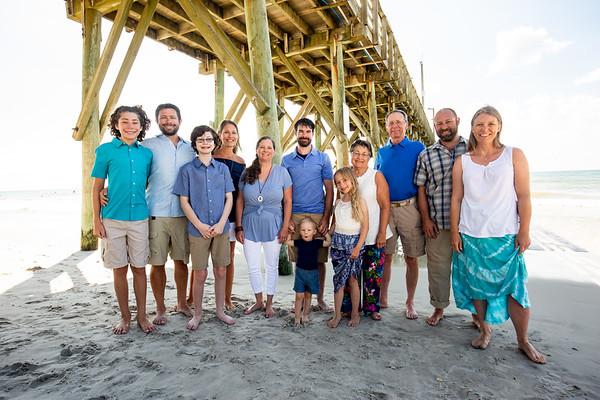 Kelly Cushing Family beach photos