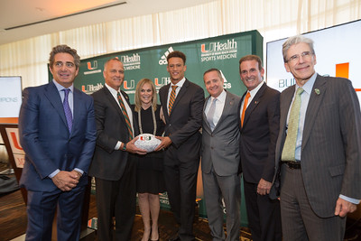 Miami's New Indoor Practice Facility Announced at the Fontainebleau Hotel -September 23, 2016