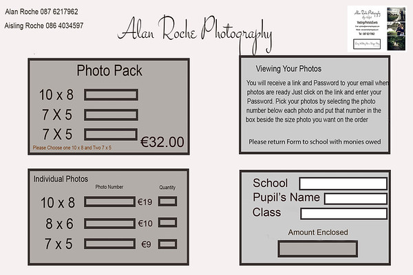 School Form and prices