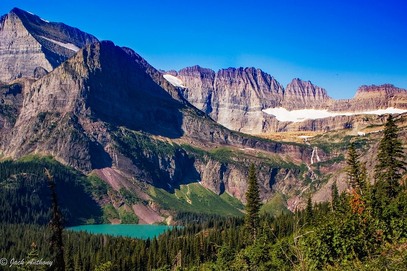 Grinnel Glacier and Lake, Glacier National Park