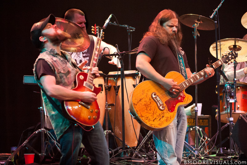 """Rowdy Cope and Jamey Johnson perform on November 6, 2010 in support of """"The Guitar Song"""" at Ruth Eckerd Hall in Clearwater, Florida"""