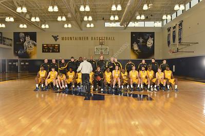 29131 WVU Mens Basketball Team Photo 2013-2014