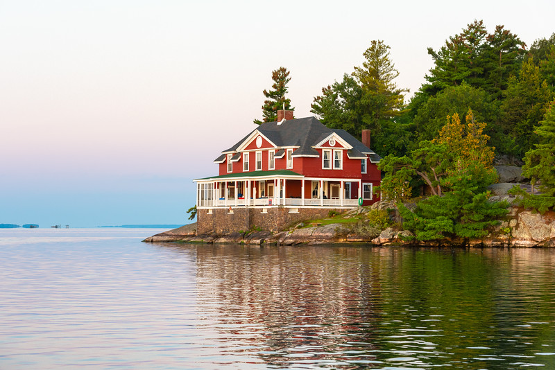 Bluff Island - 1000 Islands, NY.