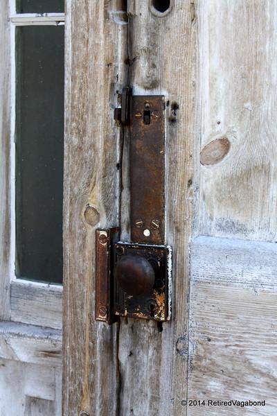 What lies behind this door?