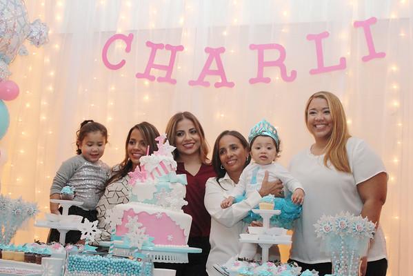 Charli Frozen First Birthday