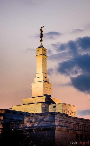 Columbus Ohio Temple Spire
