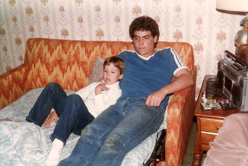 Edward III and  Tommy - Thanksgiving '84