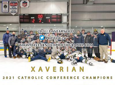 2/20/2021 - Catholic Conference Championship - Catholic Memorial vs Xaverian