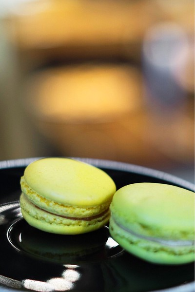 Macarons at La Maison Smith in Place-Royale, Quebec City