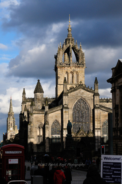 Edinburgh - Edinburgh Castle, The Royal Mile, Calton Hill