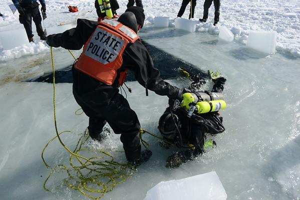 Ice Dive Training - 02.12.2014